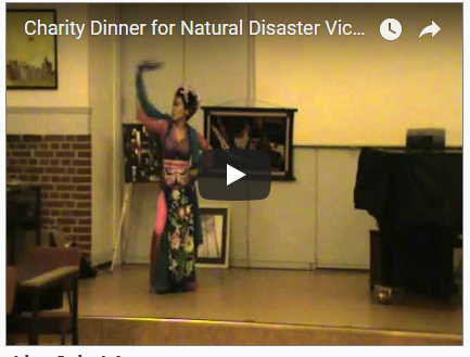Video Charity Dinner for Natural Disaster Victims in Indonesia